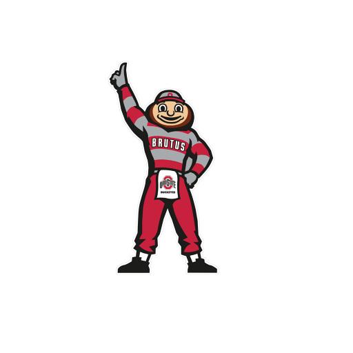 512x512 Ohio State Buckeyes Logo Clip Art