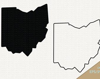 340x270 Ohio Clipart Etsy