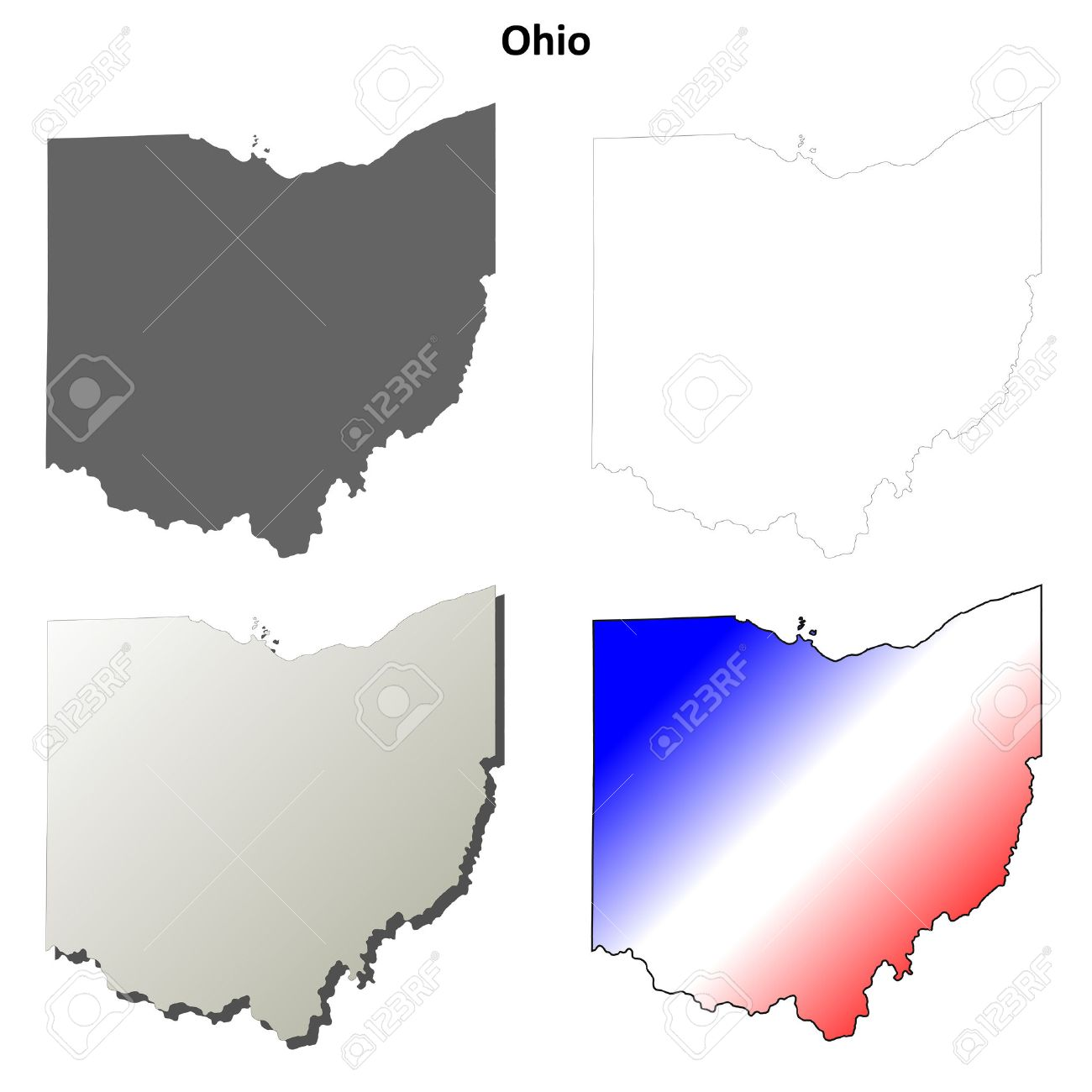 State Of Ohio Outline
