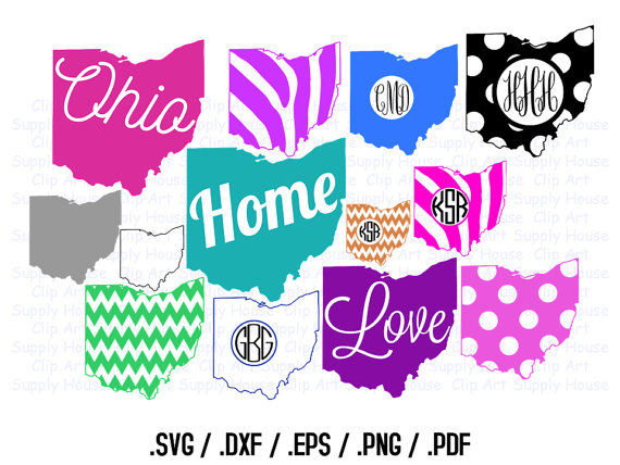570x428 Ohio Clipart, State Outline Png, State Decor, Buckeye Svg Files