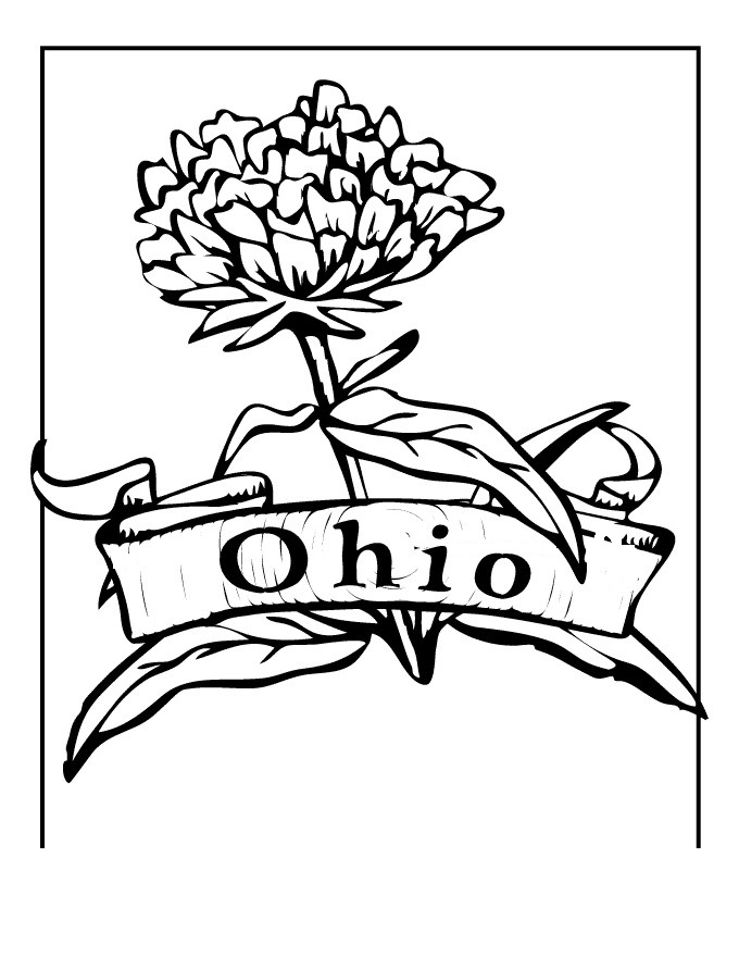 680x880 Ohio State Buckeyes Coloring Pages