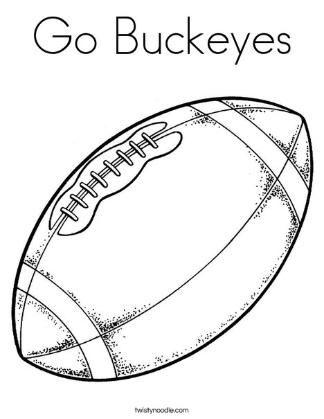 468x605 Ohio State Buckeyes Coloring Pages Many Interesting Cliparts