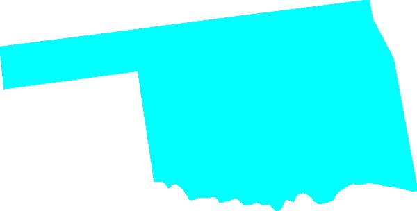 600x304 Oklahoma Clip Art