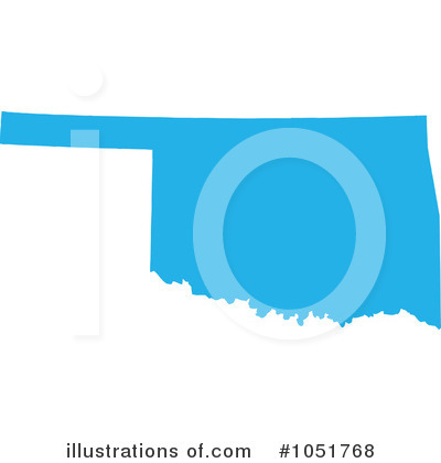 400x420 Best Photos Of Oklahoma State Map Clip Art