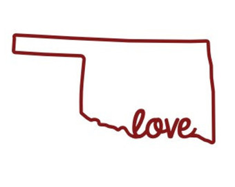 340x270 State Of Oklahoma Clipart