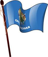 163x195 Fifty States Oklahoma Clipart