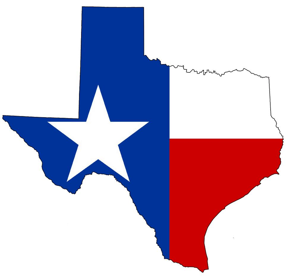 1000x930 Texas State Clipart
