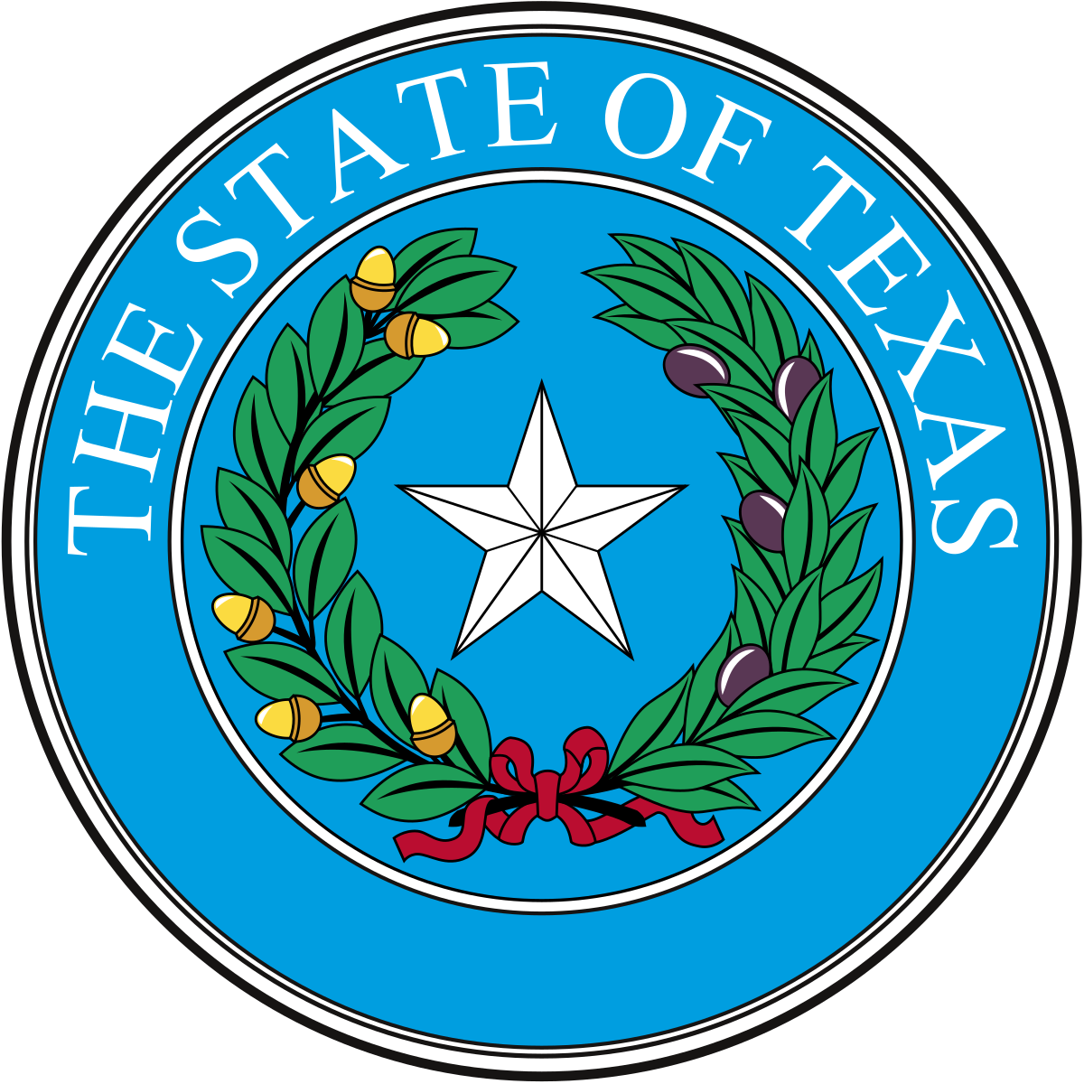 1200x1200 Seal Of Texas