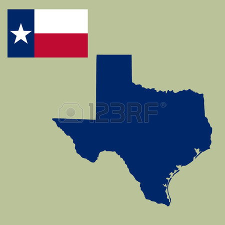 450x450 Map Of The U.s. State Of Texas Royalty Free Cliparts, Vectors,