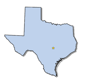 280x271 Map Of Texas And County Map