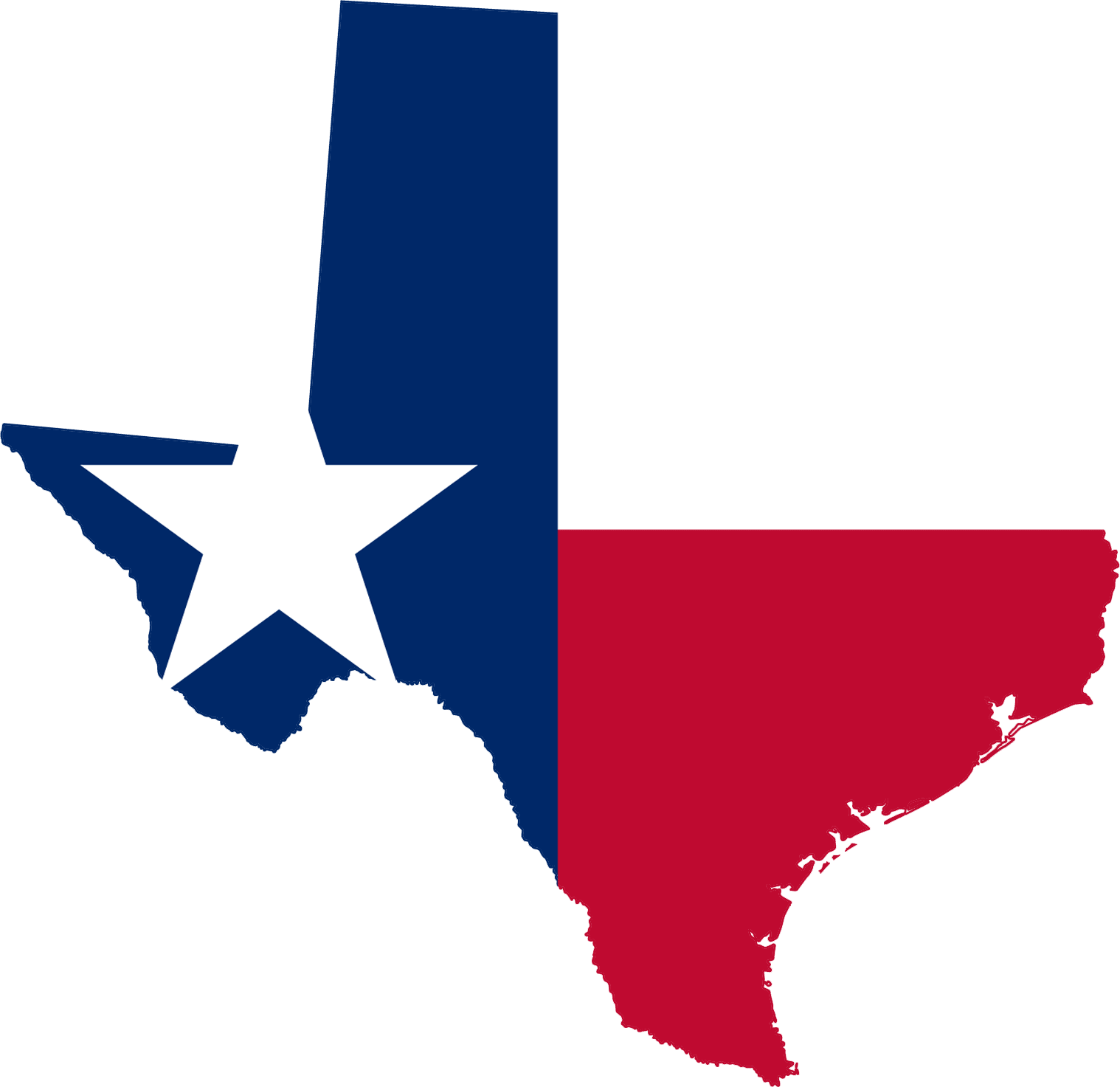 1518x1473 State Of Texas Outline