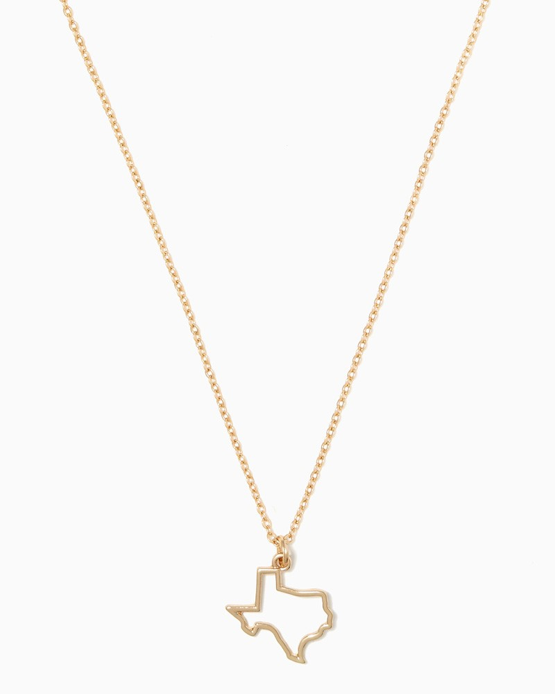 800x1000 Texas Outline Necklace Fashion Jewelry