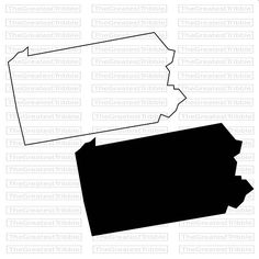 236x236 New Hampshire State Map Svg Png Jpg Vector Graphic Clip Art New