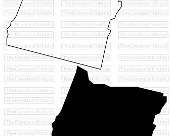 340x270 Oklahoma State Map Svg Png Jpg Vector Graphic Clip Art Oklahoma