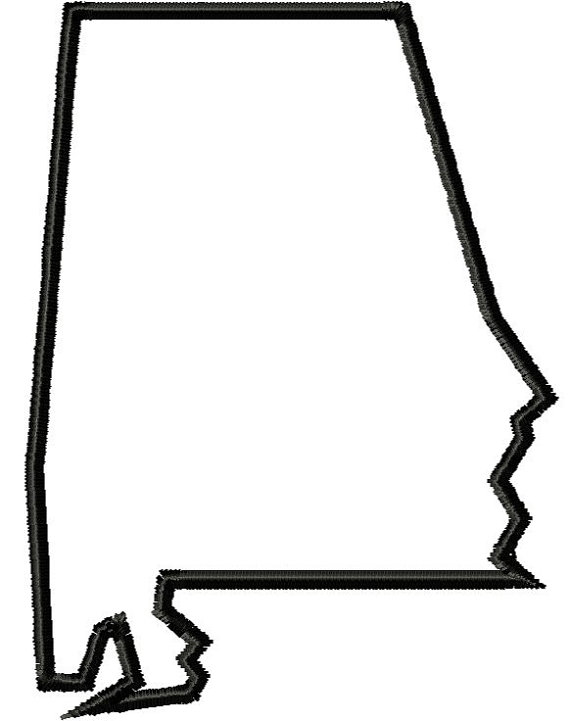 570x721 State Of Alabama Outline Clip Art