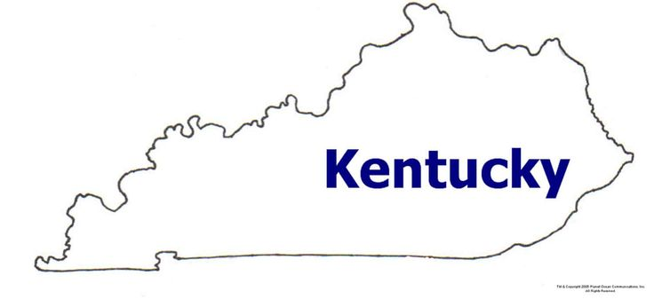 736x346 State Of Ky Map Clip Art Clipart Panda