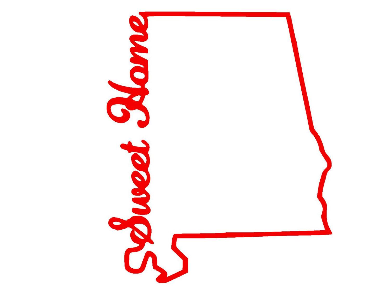 1500x1159 State Of Alabama Outline Clip Art
