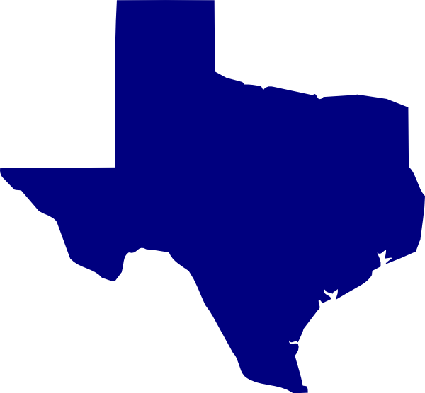 600x556 State Of Texas Outline Clip Art Free Vector For Download