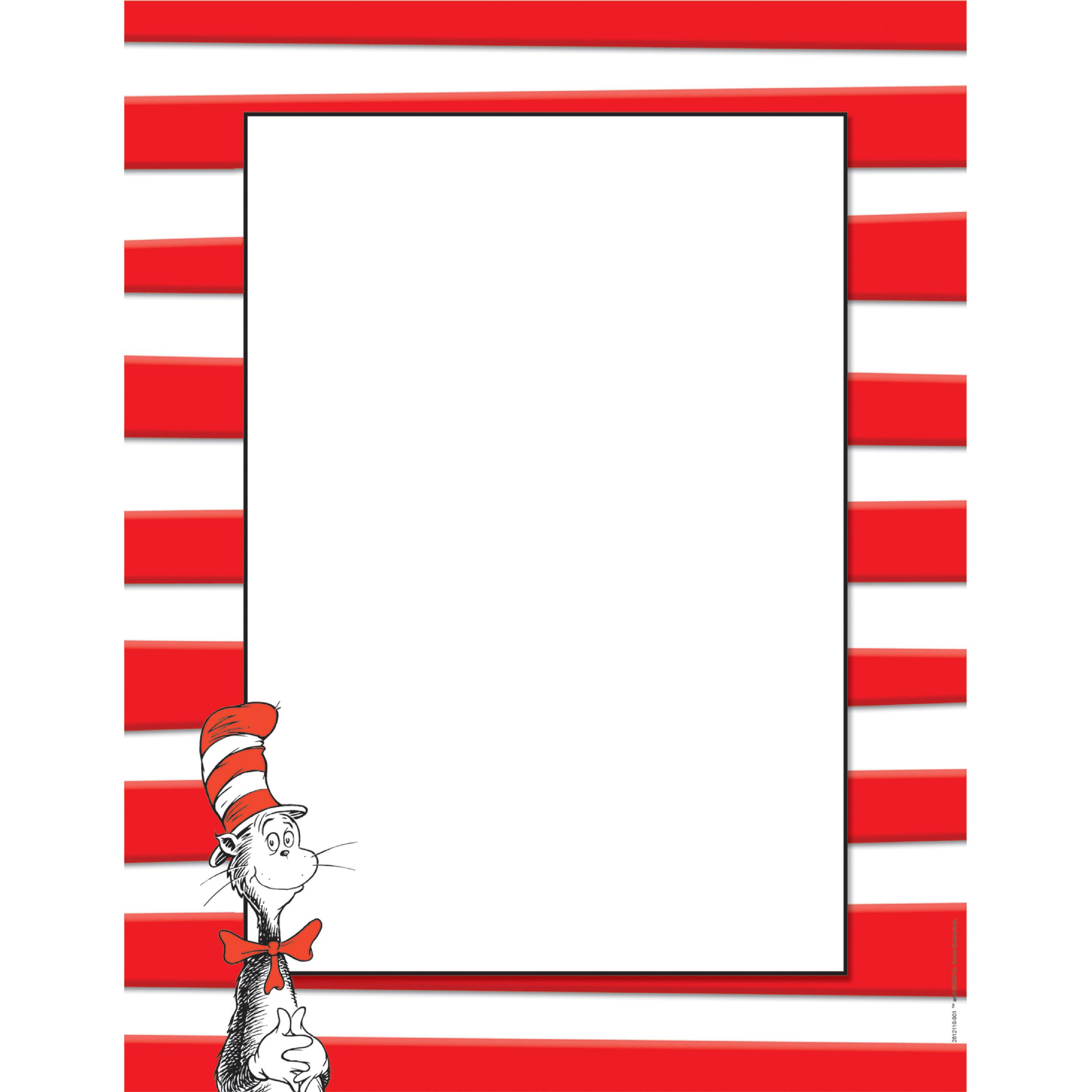 2500x2500 Best Dr Seuss Border