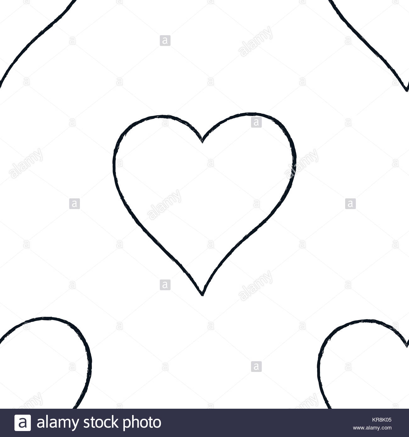 1300x1390 Heart Drawing Outline Shape Stock Photos Amp Heart Drawing Outline