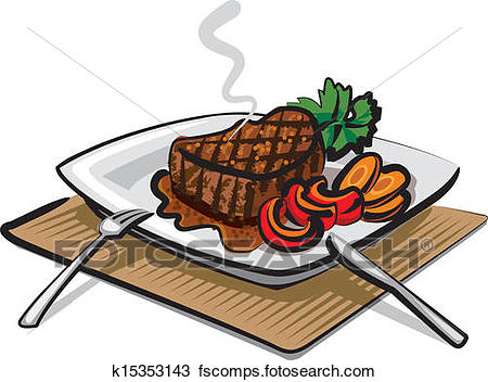 450x352 Steak Dinner Clip Art Royalty Free. 5,315 Steak Dinner Clipart
