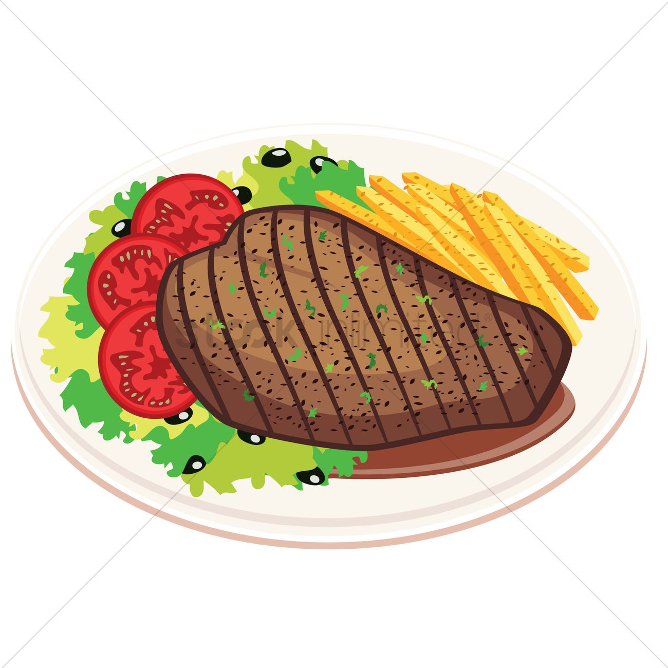 1300x1300 Chips Clipart Meat