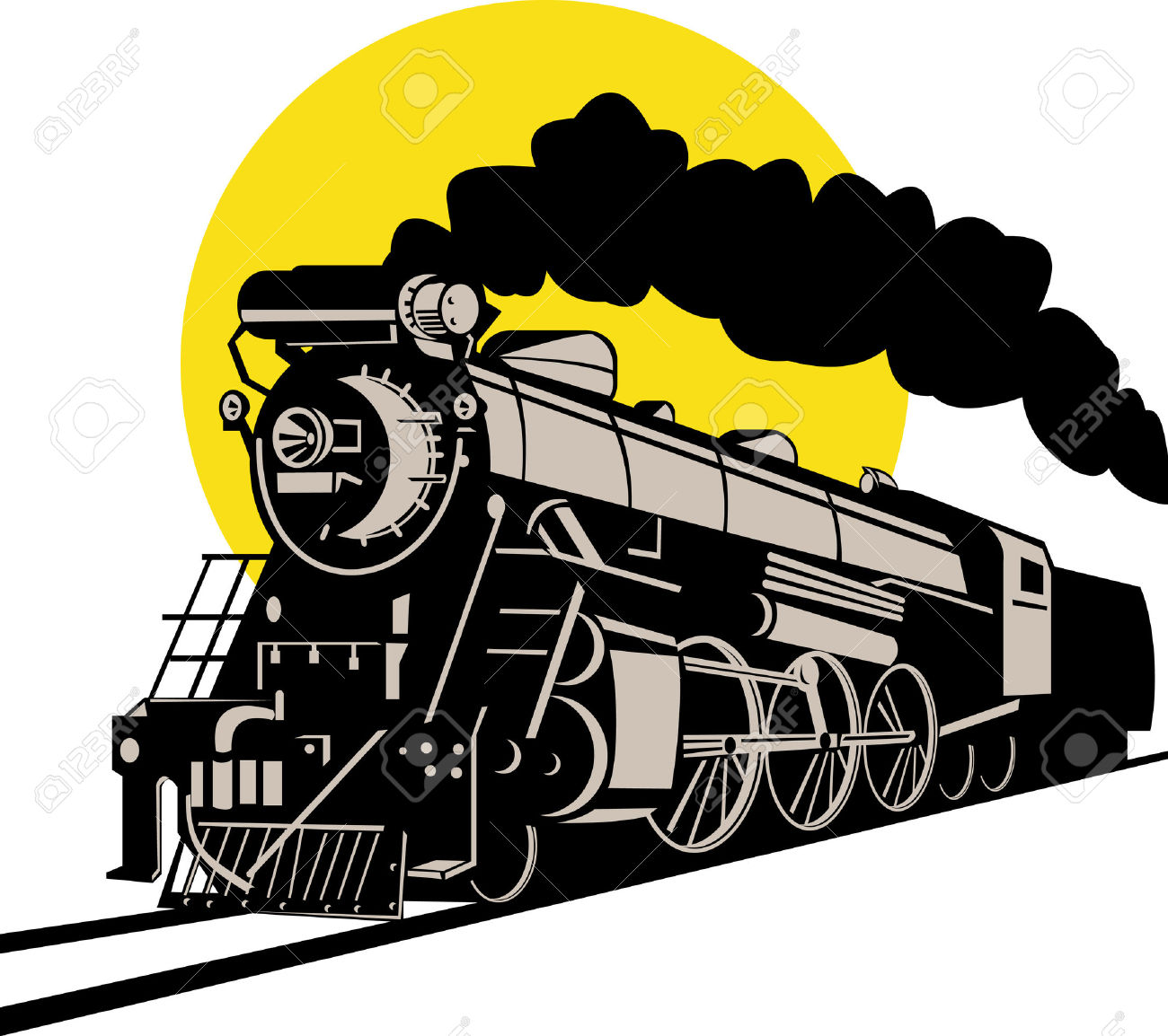 1300x1154 Steam Clipart Steam Locomotive