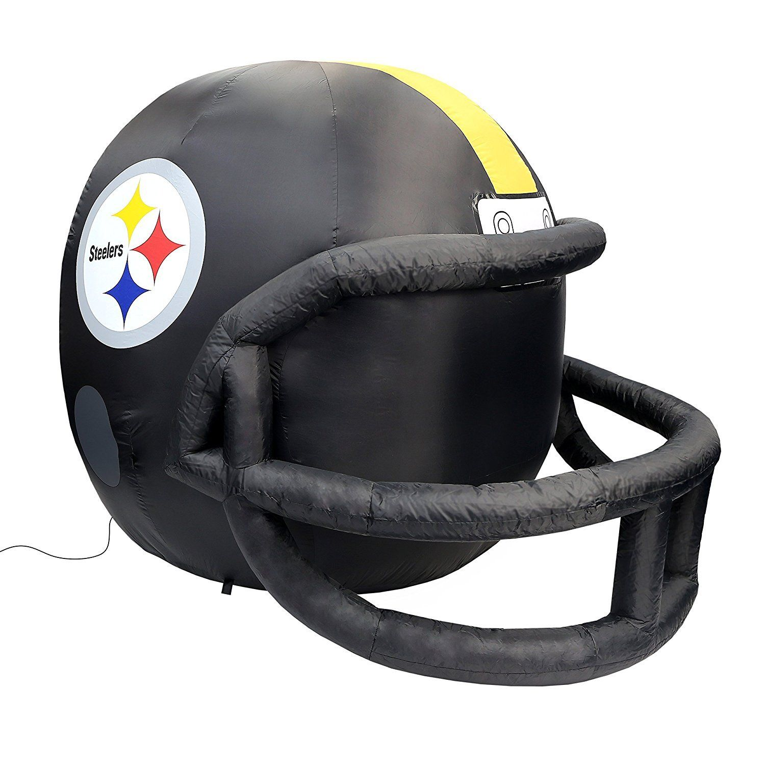 1500x1500 Pittsburgh Steelers 4 Ft Inflatable Helmet Nfl License Pump Lights