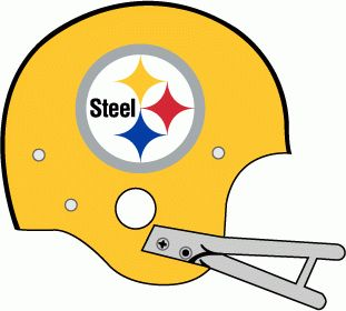 311x280 Pittsburgh Steelers Helmet Logo 1962. Sports Logos, Hats