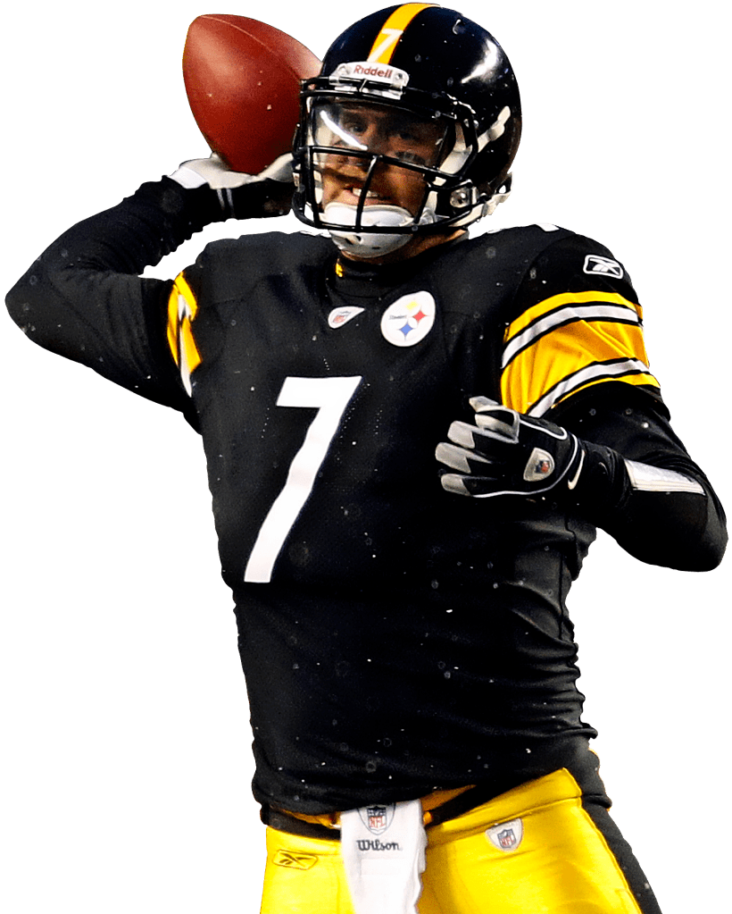 820x1023 Steelers 7 Ben Roethlisberger Transparent Png
