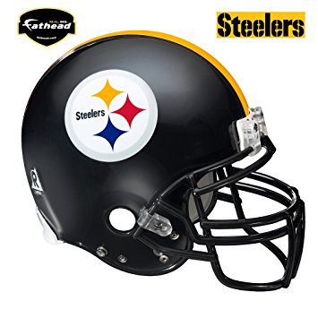 355x355 Pittsburgh Steelers Helmet Wall Decal Sports Fan