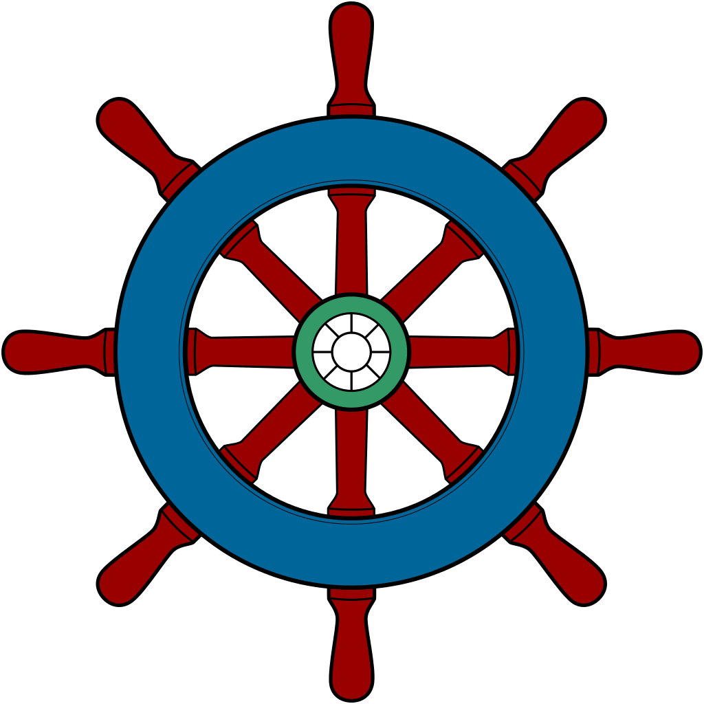1024x1024 Ship Wheel Clipart Ship Steering Wheel Clipartfest