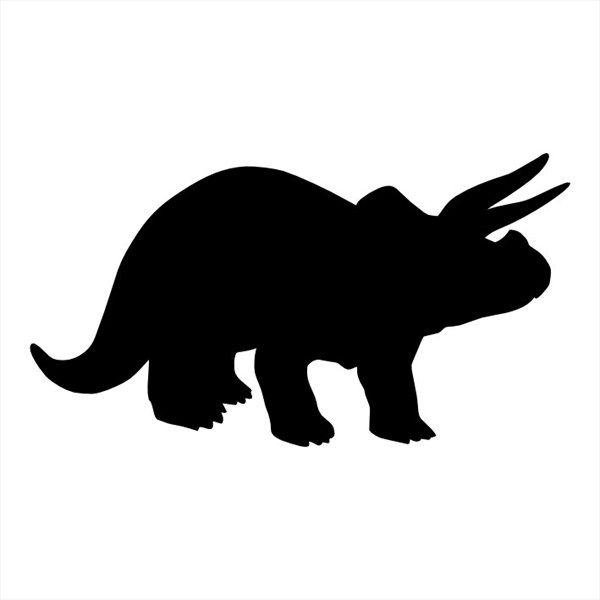 600x600 34 Best Stegosaurus Outline Tattoo Images 3rd
