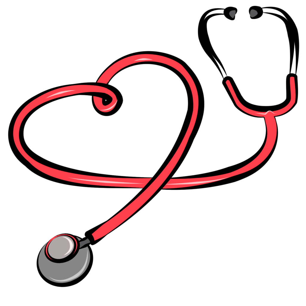 Stethoscope heart. Clipart free download best
