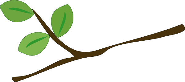600x266 Branch Clipart Stick