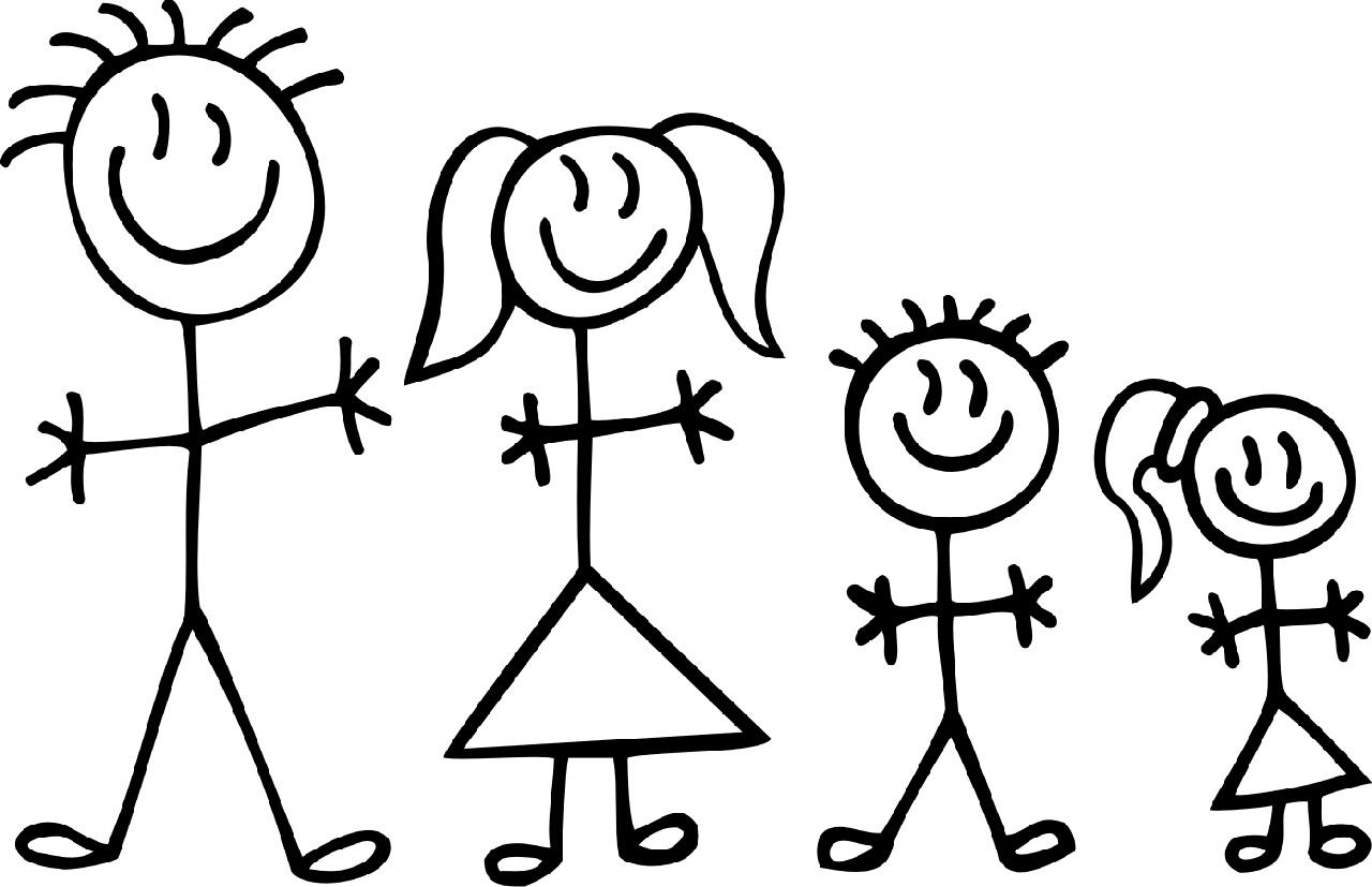 Stick Man Family
