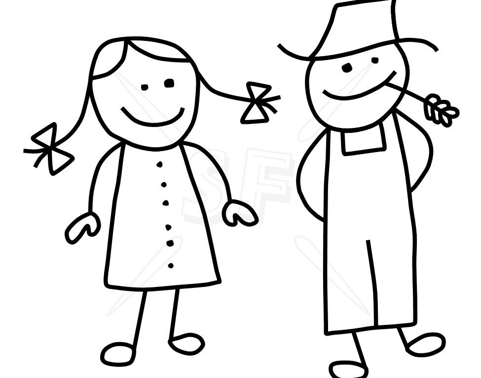 975x768 Ingenious Stick Figure Clip Art Variety Of People Figures Depot
