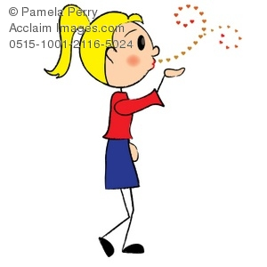 300x300 Kiss Clipart Stick Figure