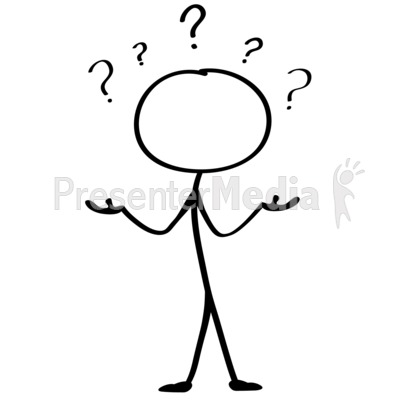 400x400 Question Stick Figure Clipart