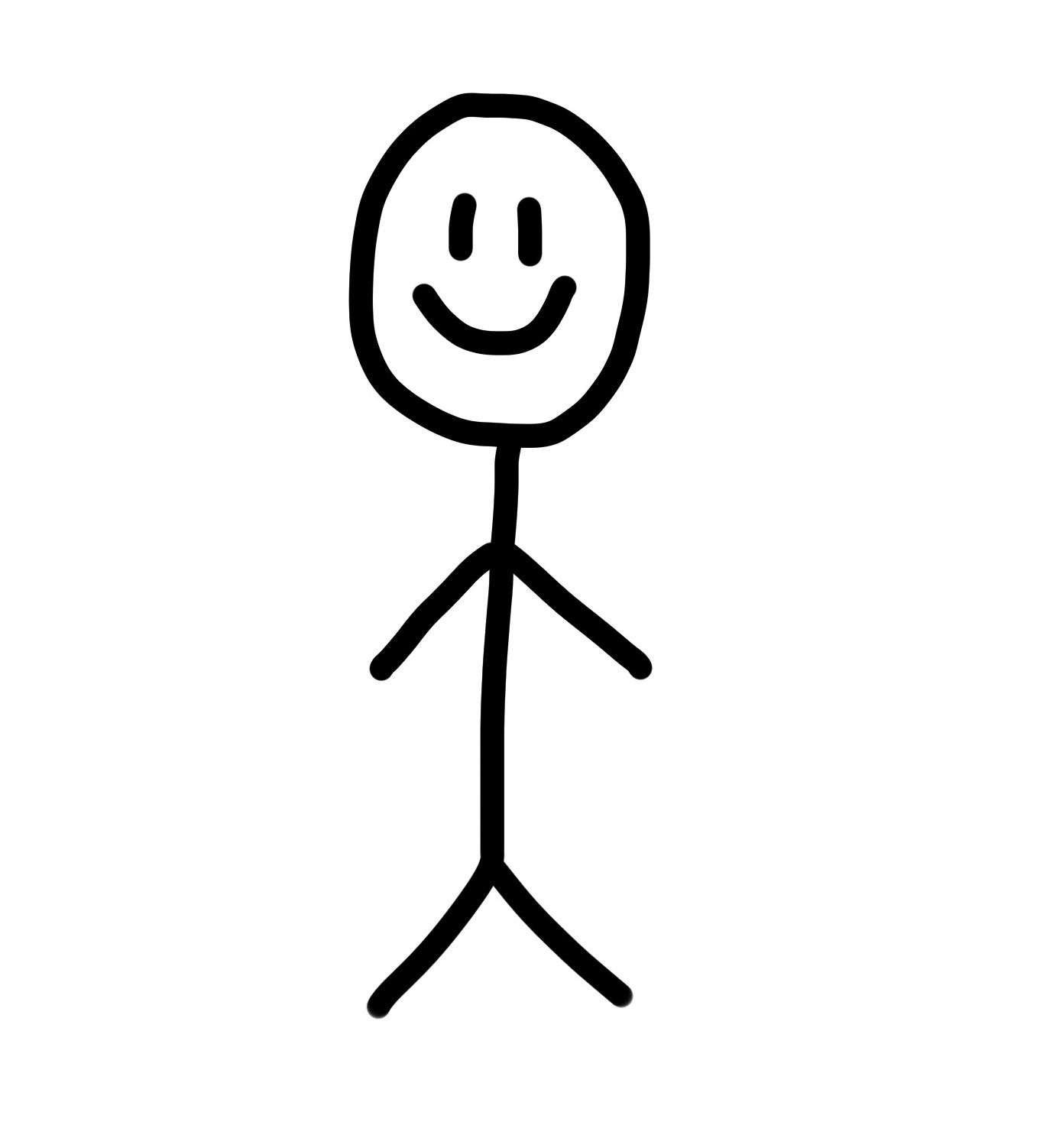 1361x1502 Stick Person Clipart