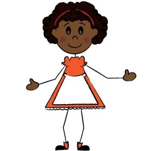 Stick Figure Girl