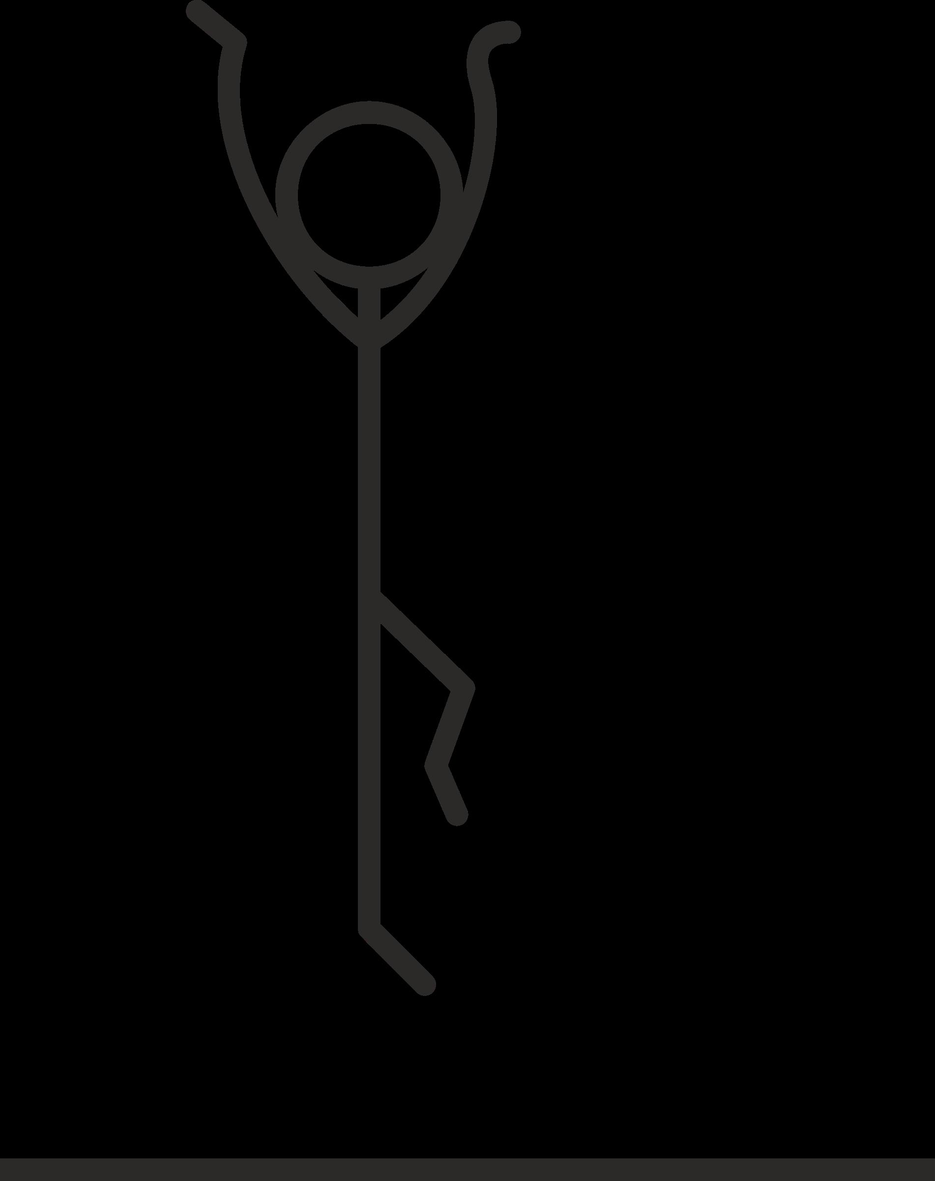 1902x2400 Jump Clipart Stick Figure