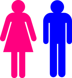276x298 Boy And Girl Stick Figure Clip Art Clipart Image