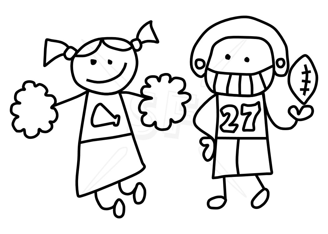 1050x750 Stick Figure Kids Clipart Black And White Letters Example