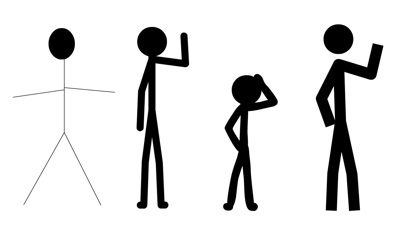 1280x720 Creating Stick Figures For Flash Animation!