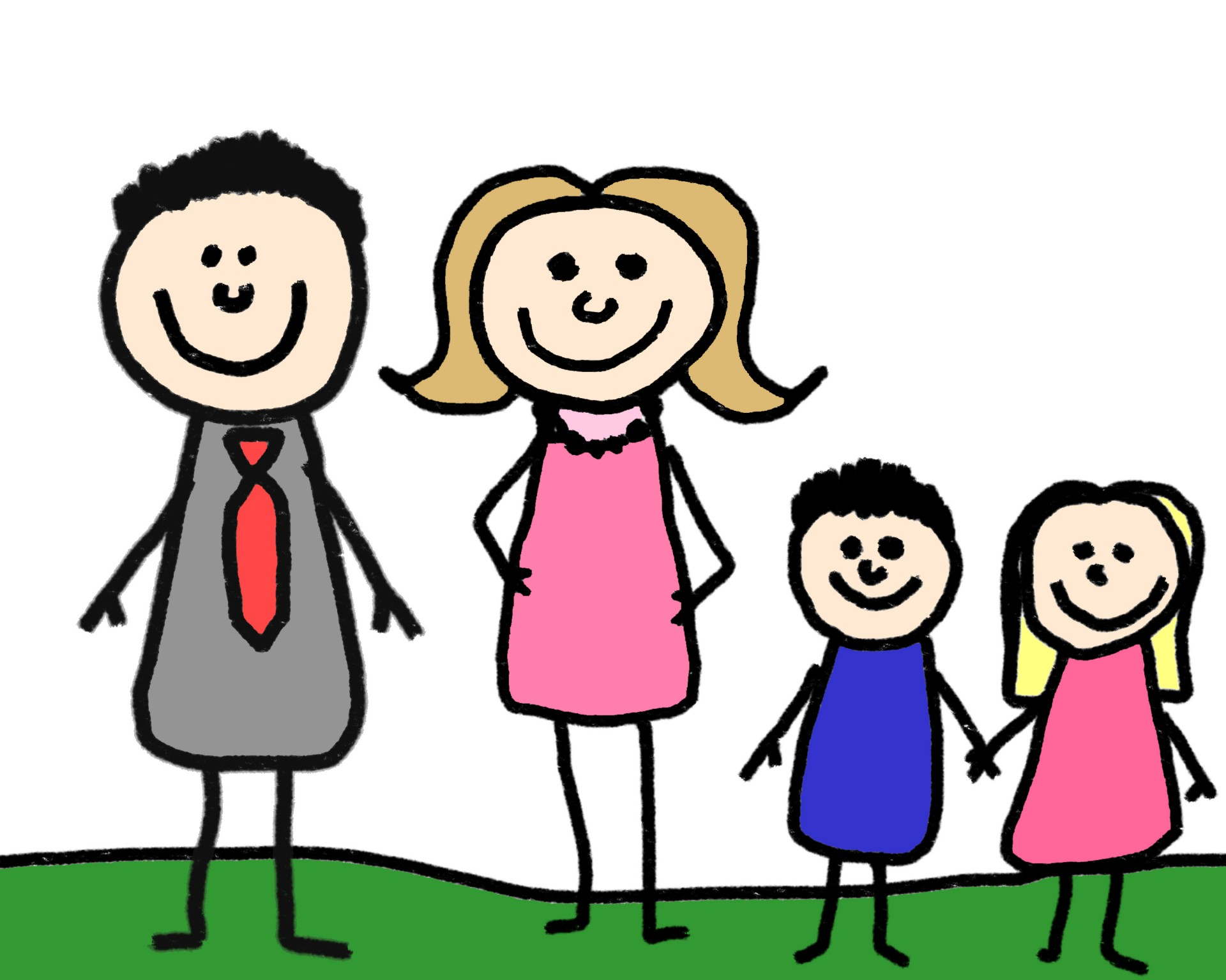 1920x1536 Stick Figure Family Clipart Many Interesting Cliparts