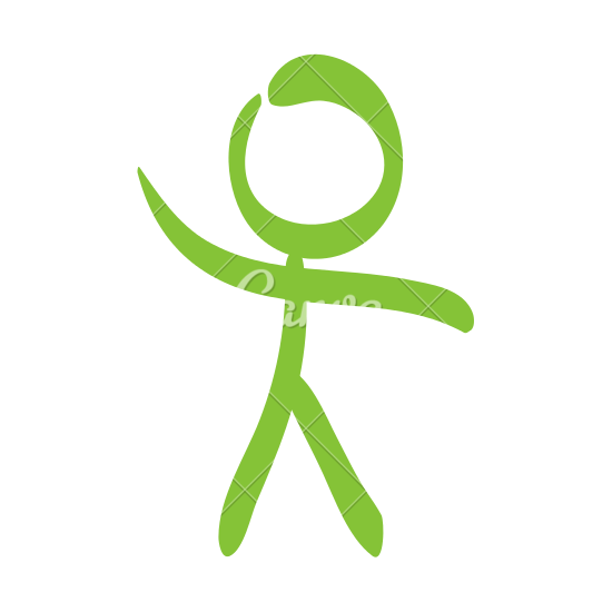 550x550 Stick Figure Of Man Icon