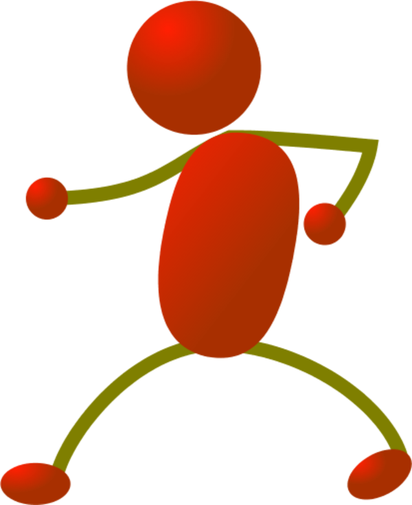 600x735 Stick People Dancing Clipart