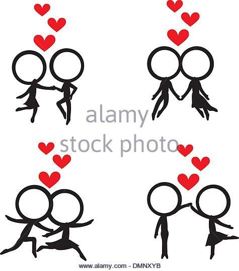475x540 Stick Figure Illustration Dance Stock Photos Amp Stick Figure