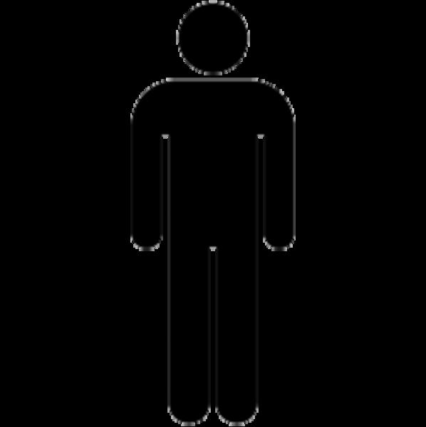 598x600 Stick Person Clipart